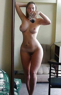 Perfect body amateur selfies