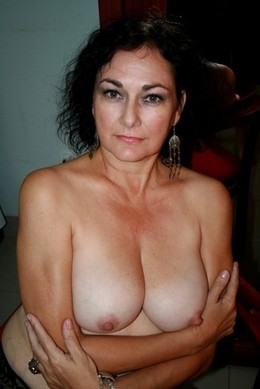50 year old Anna, cougar slut from..