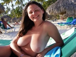 Wife With Massive Torpedos Topless On..