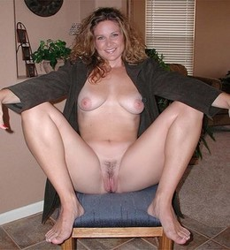 Cute wife spreading her legs to show..