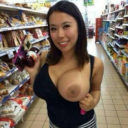 Superb asian big tits in incredible..