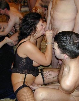 Group sex swinger party homemade porn..